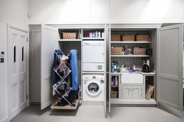 laundry room closet organization ideas