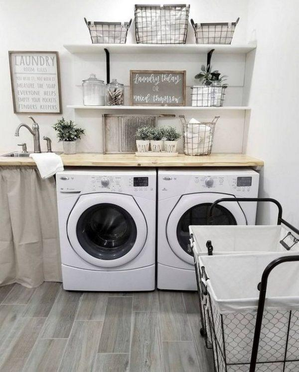 diy laundry organization ideas