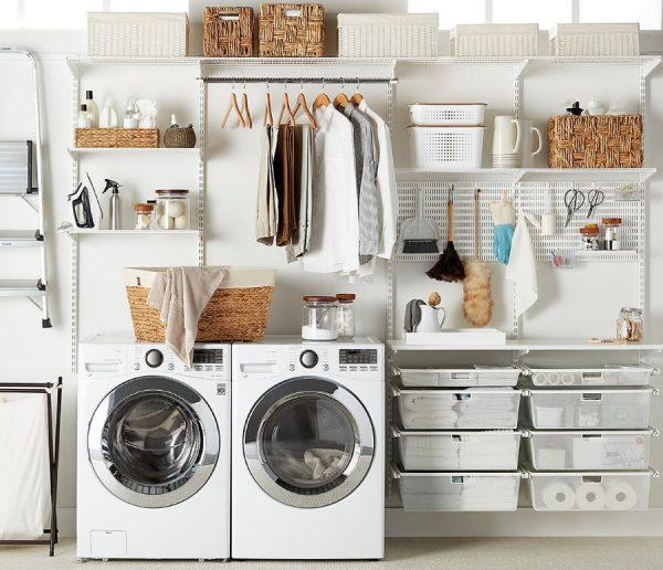 organization ideas for laundry room