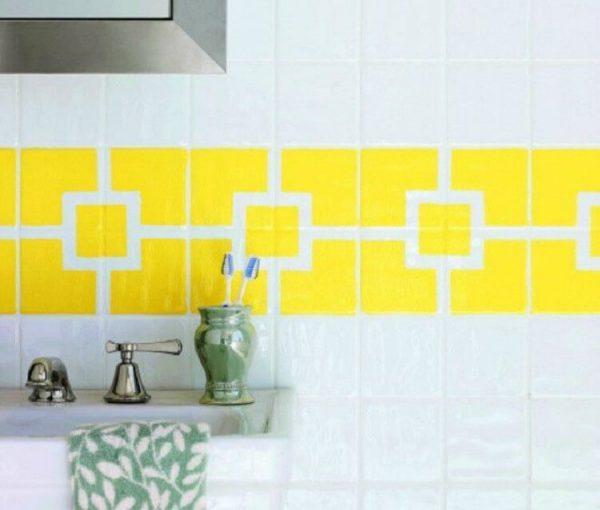 how do you paint ceramic tiles