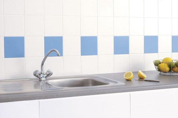 paint ceramic tile backsplash kitchen