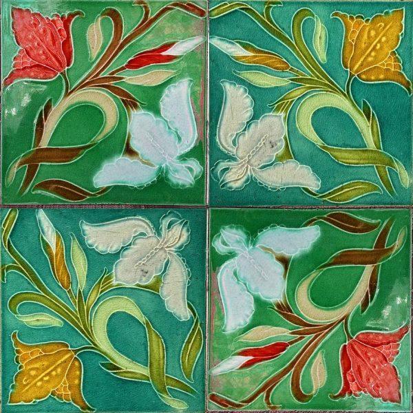 hand paint ceramic tiles