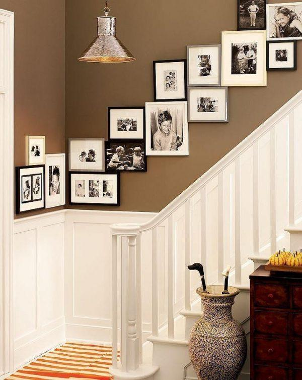 wall decorations with photo frames