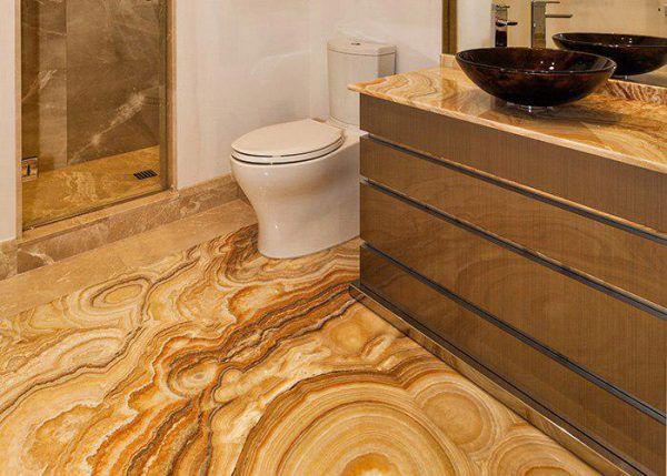 stone flooring for bathroom
