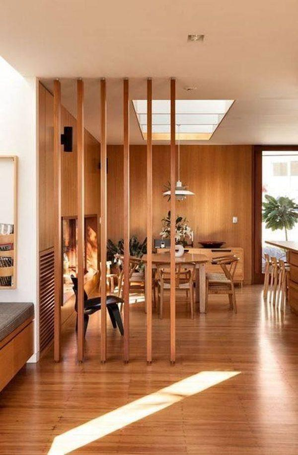 Wooden partition designs