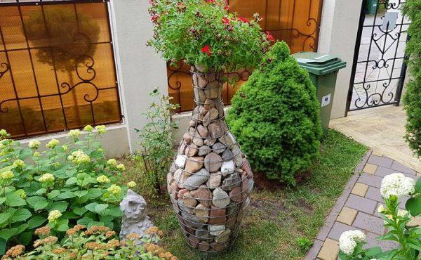cheap gabion planters