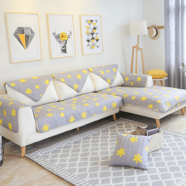 sofa cover set design