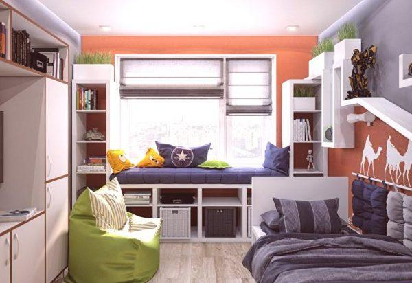 organizing small children's rooms