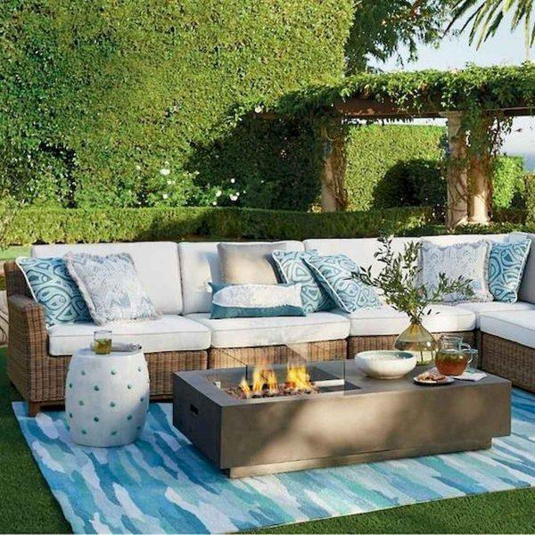 blue garden ideas