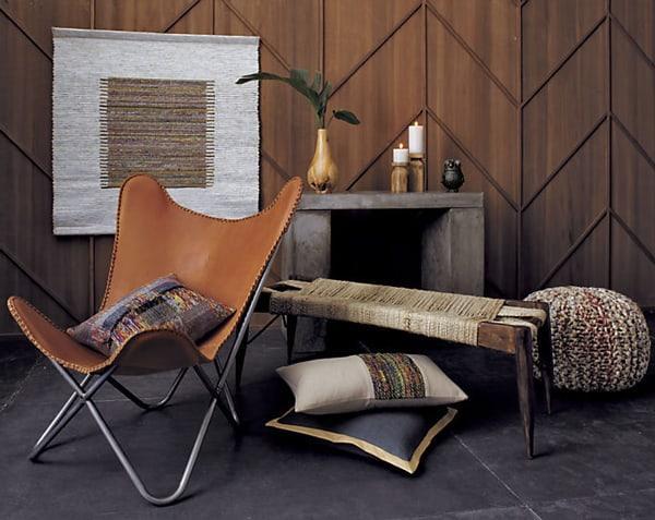 Leather home decor