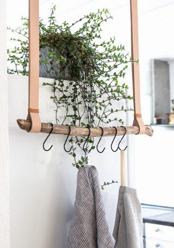 leather hanger