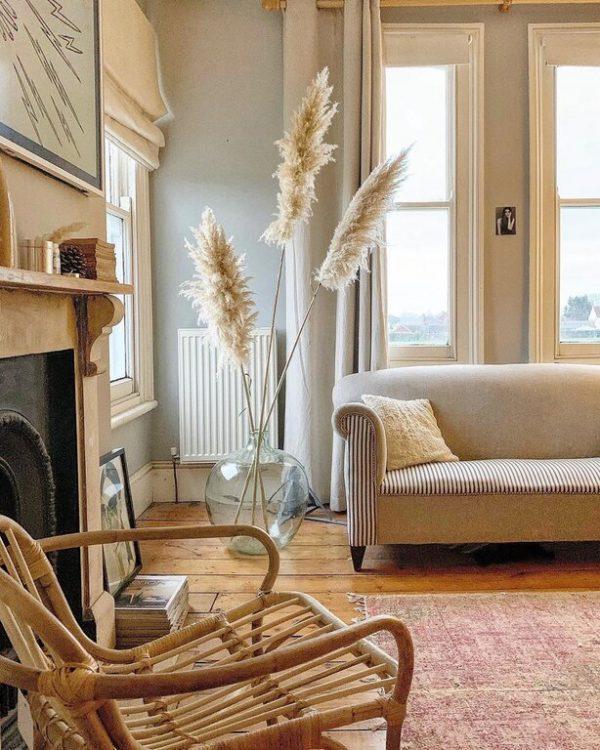 pampas grass for decor