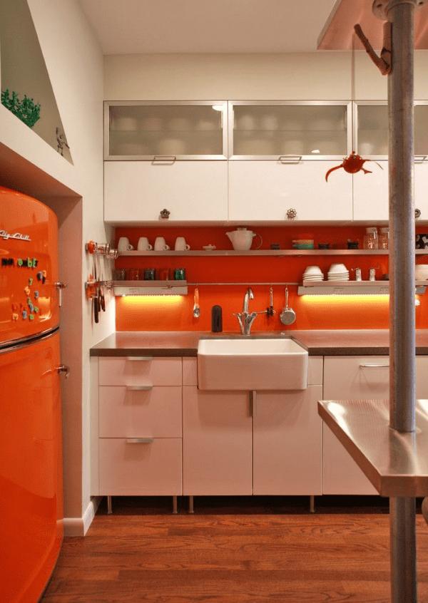 modern retro kitchens