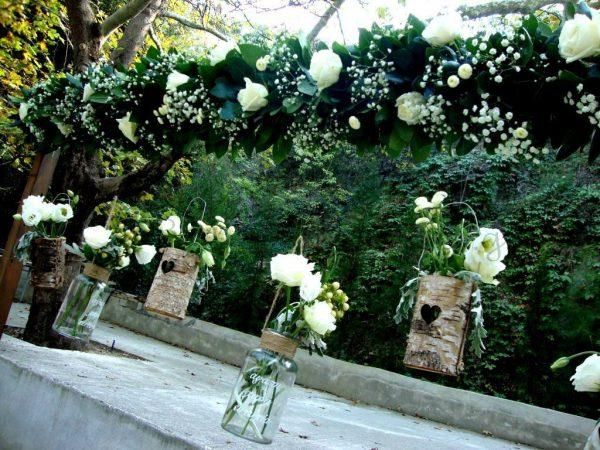 backyard wedding themes