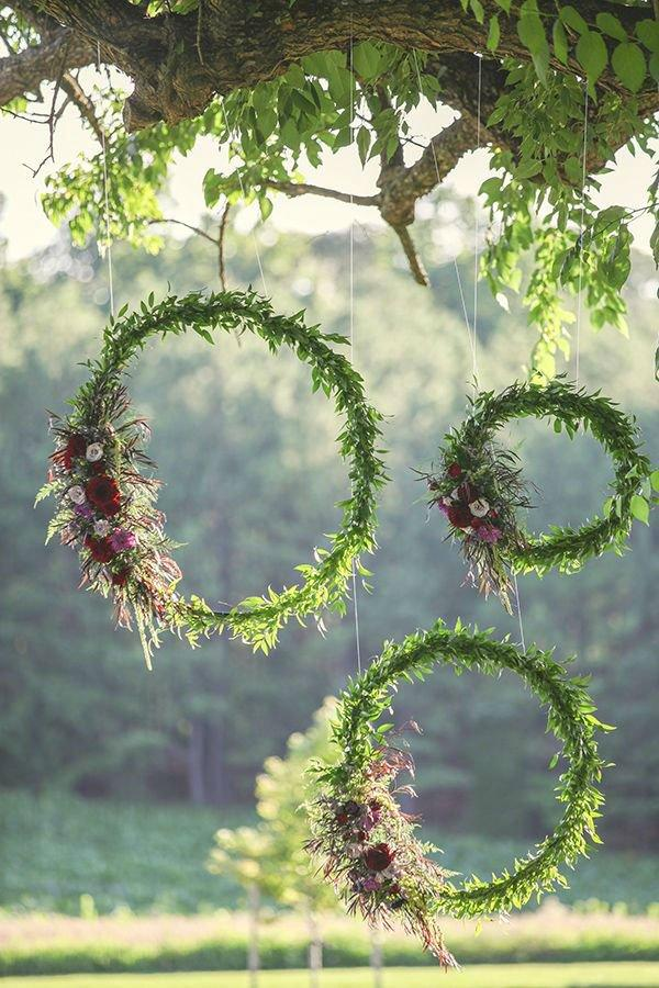 yard wedding decoration ideas