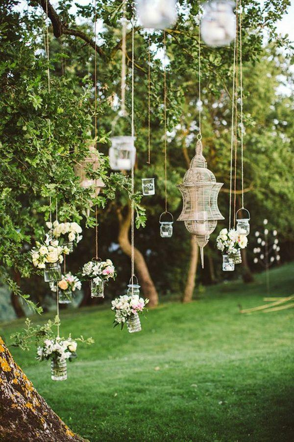 outdoor yard wedding ideas