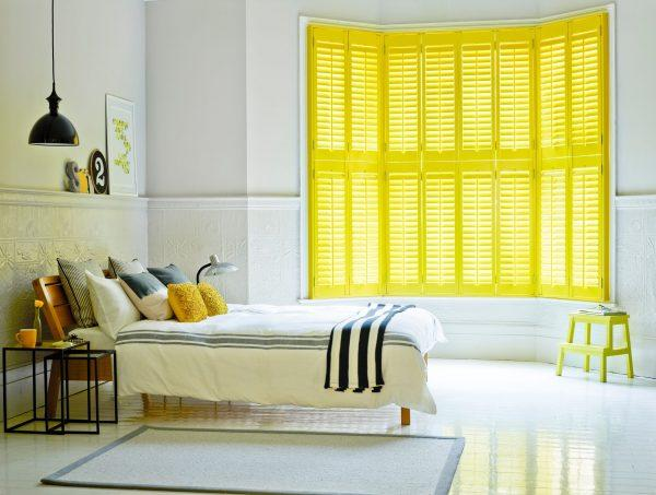 yellow accent decorating ideas