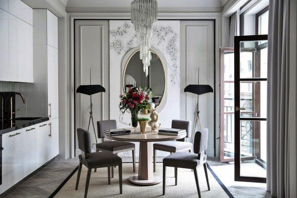 modern french style homes interior