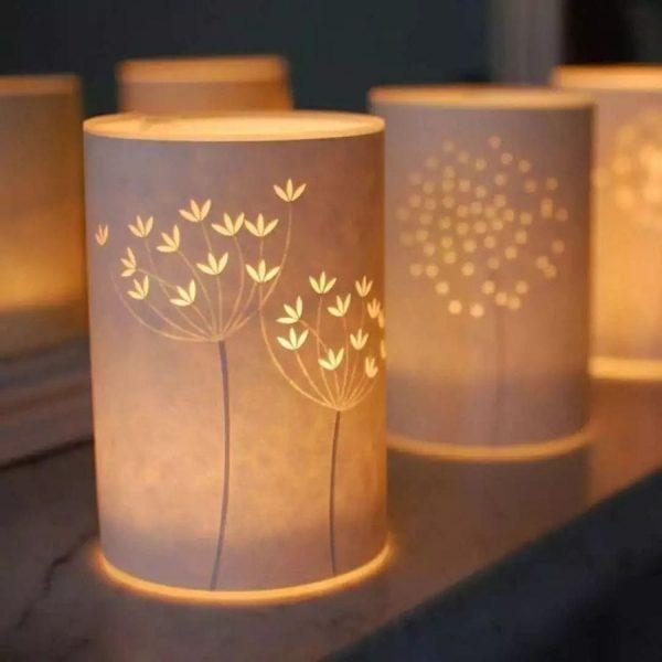paper candle lanterns