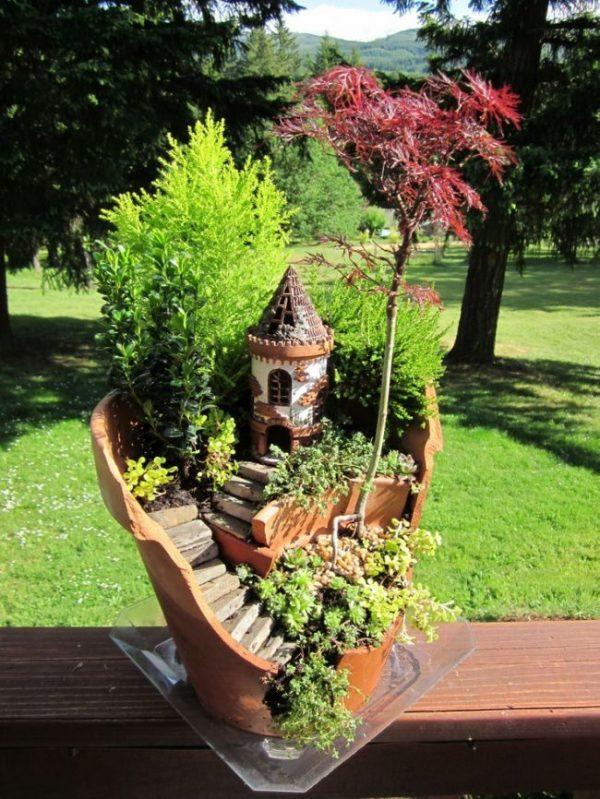 how to create a fairy garden outdoors
