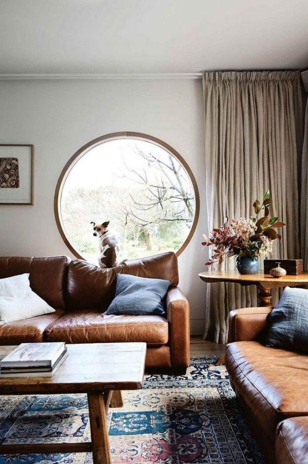 Round ship windows in the home