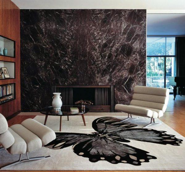 Stylish carpet for living room