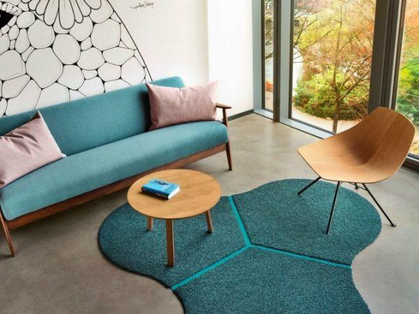modern carpet design