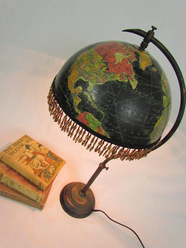 Upcycled globe