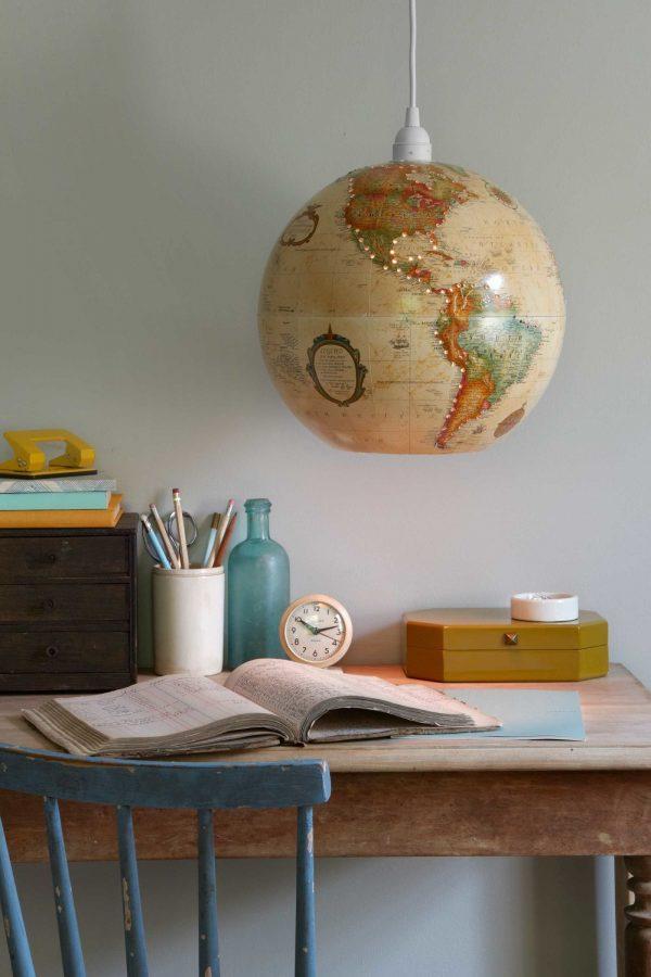 world globe lights