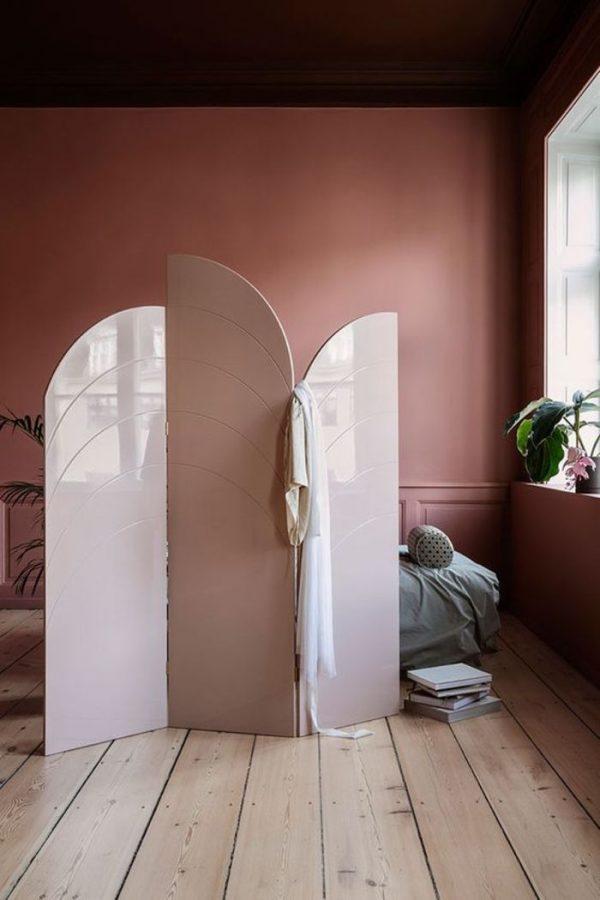 arched room divider