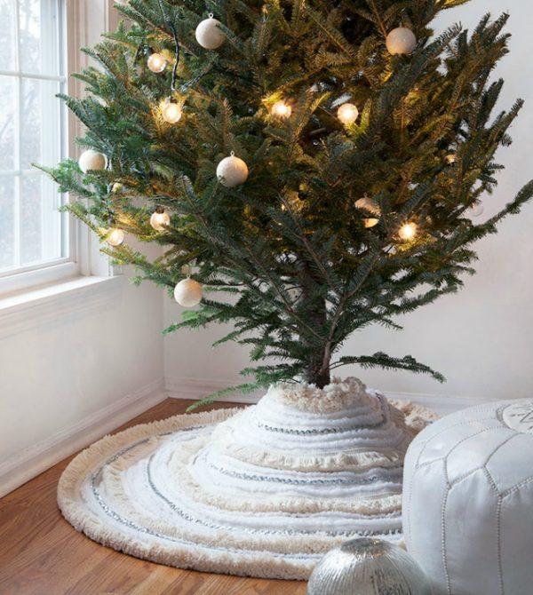 boho christmas tree skirt