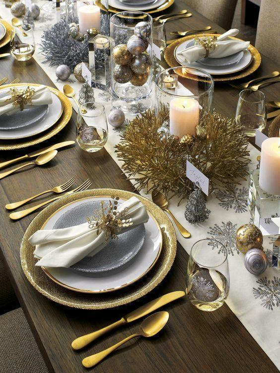 New year's eve table decoration ideas 1