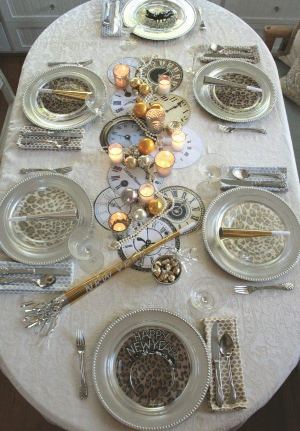 new year table decorations 1