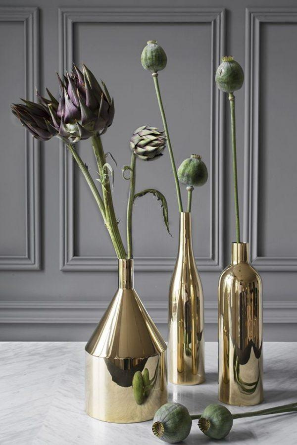modern table vases