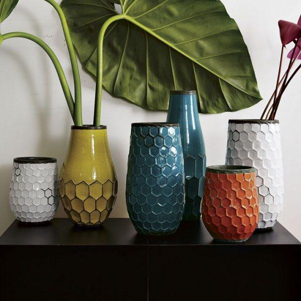 decorative table vases