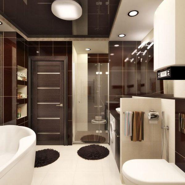 brown and cream bathroom ideas