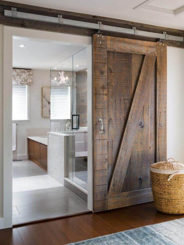 Barn doors in the house