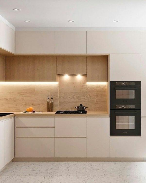 matt lacquer kitchen cabinets