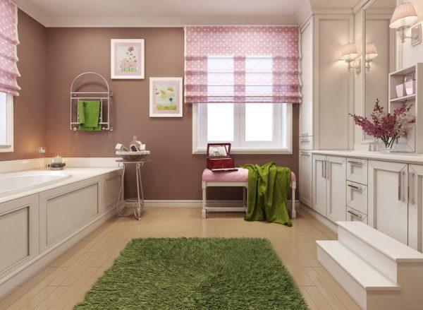 bathroom curtains ideas modern