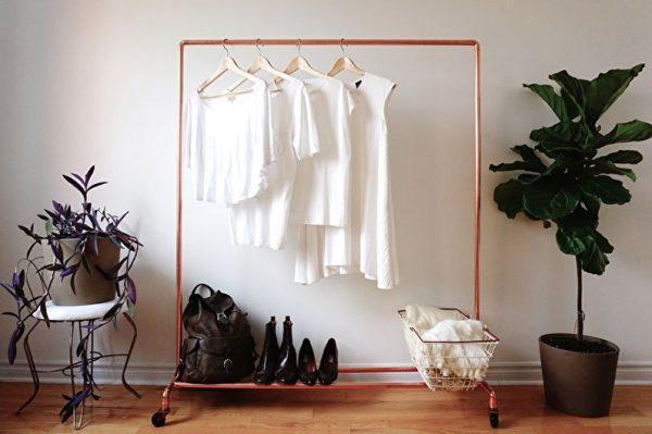 clothes storage racks