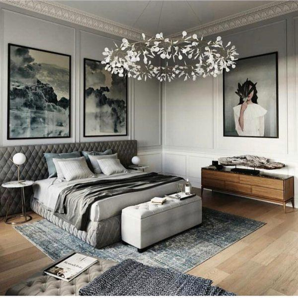 modern neutral bedroom