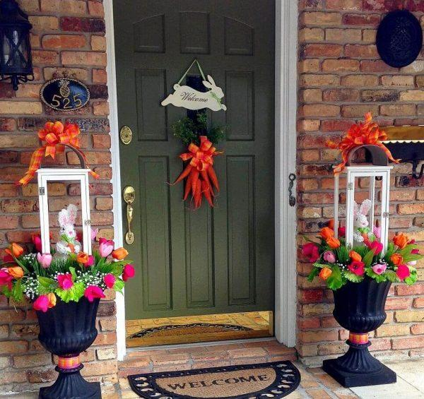 easter outdoor decorations ideas