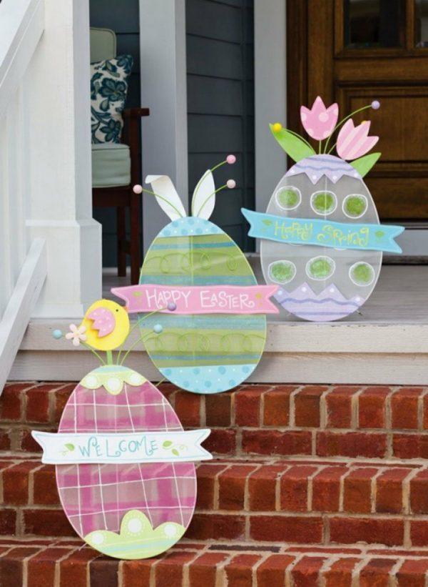 large easter egg decorations