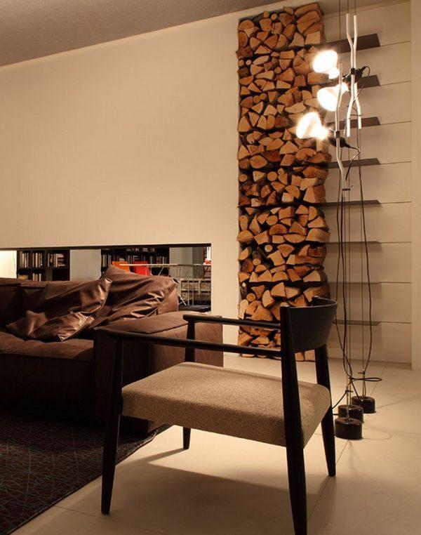 indoor log rack