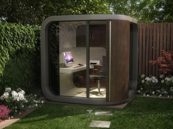 small garden office ideas