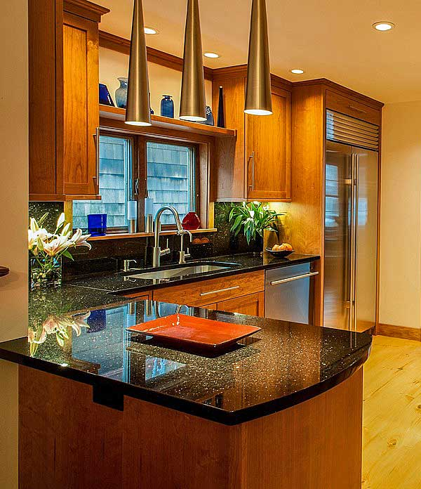 10 Beautiful Ideas For Kitchen Cabinet Colors with Granite Countertop