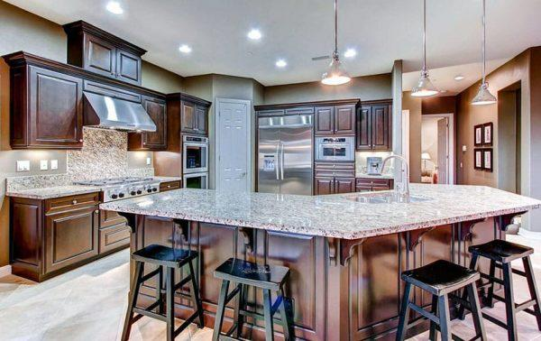 beige granite countertops