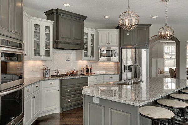 granite countertops and paint colors