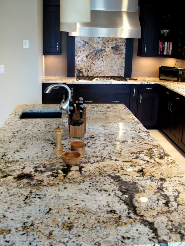 what paint colors go with brown granite countertops