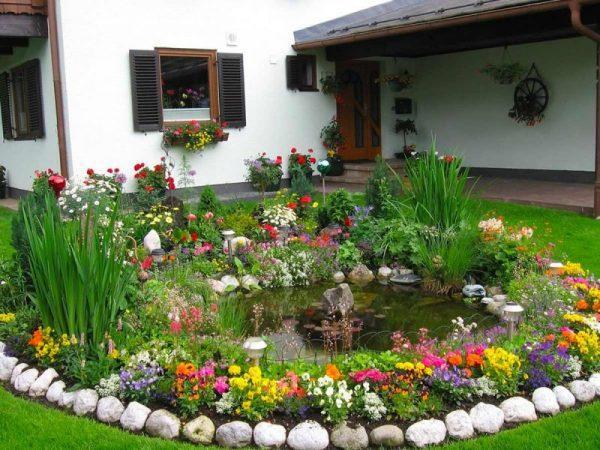 Flower bed shapes